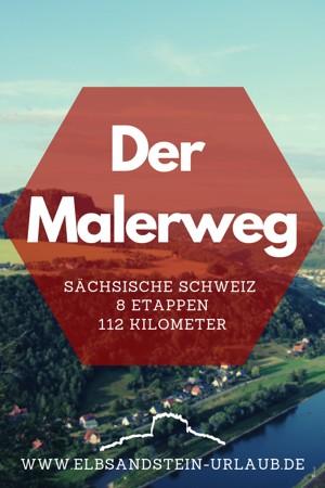 Wanderweg Malerweg in der Sächsischen Schweiz.