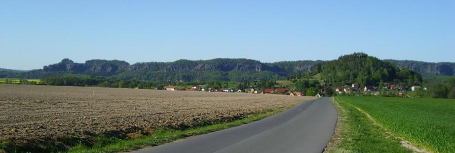 Kaiserkrone und Zirkelstein in Schöna